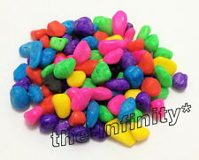 500g Mix Colorful Mini Stone Aquarium Fish Tank Gravel Pebbles Rock Decorative