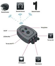 SHKBT2WAY BLUETOOTH AUDIO &GPS 2WAY RADIO ADAPTER .TURNS ANY DEVICE TO BLUETOOTH