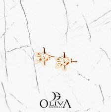 Brosway Orecchini Donna Epsilon Stella Acciaio Pvd Oro Zirconi BEO26