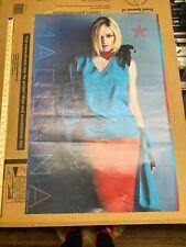 Madonna World Tour 2001 Poster 24x36 Rare