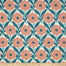 FreeSpirit Amy Butler ZEBRA BLOOM Cotton Fabric -LINEN- £12.50 per M - Free P&P