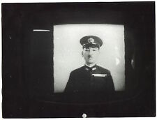 2 Photos José Tavera - TV Screen - Hiroshima - 1961 -