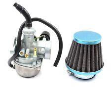 50cc 70cc 90cc 110cc ATV Dirt Bike Go Kart Carburetor W/ Air Filter Gasket