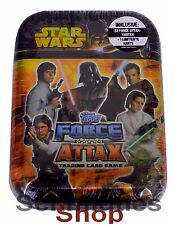 Topps Star Wars - Force Attax Serie 3 - Mini Tin Box mit Limitierte Karte