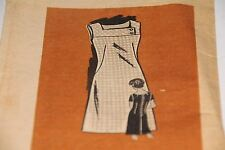 Marian Martin Mail Order 4997 Printed Pattern 1960's Dress Sz 14 1/2 Vintage