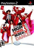 Disney High School Musical 3: Senior Year Dance! - Sony PlayStation 2 PS2