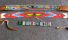 Vintage Native American Indian Bead Decorated Belt Strap Other Projects