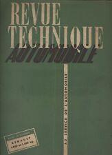 (C16) REVUE TECHNIQUE AUTOMOBILE RENAULT R 2.060 et R 2.061 / VLR DELAHAYE