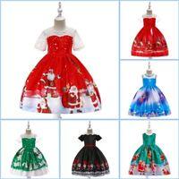 Dress Christmas Bridesmaid Party Kid Flower Dresses Girl Wedding Princess Tutu