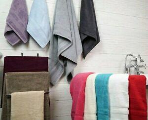 Allure Luxury Supersoft Absorbent Zero Twist Egyptian Cotton Bath Towel Bathroom