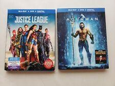 Blu-Ray + Dvd + Digital Dc Justice League and Aquaman
