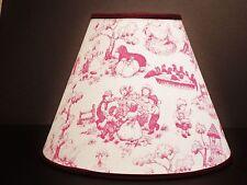 Nursery Rhyme Toile Lamp Shade Handmade Lampshade Baby
