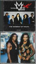 THE REAL MILLI VANILLI (FRANK FARIAN) - THE MOMENT OF TRUTH (+ CDSINGLE)