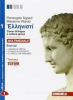 Hellenisti esercizi 1, Zanichelli scuola, Agazzi/Vilardo, cod:9788808901132