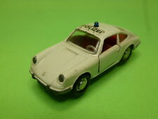 SCHUCO PORSCHE 911S POLIZEI POLICE - WHITE 1:66 - GOOD CONDITION