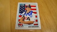 Alex Bregman Houston Astros/USA Autograph Auto sign 2010 Bowman 1st USA card