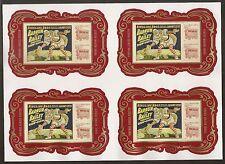 US 4905b Circus imperf NDC Souvenir block Sheet MNH 2014