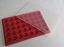 Coin Tray for 40 Coins with Cover £1 £2 Pound 50p Olympic Pence 30mm Space