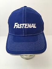 Fastenal Baseball Hat Cap Blue With White Stitching New Without Tags
