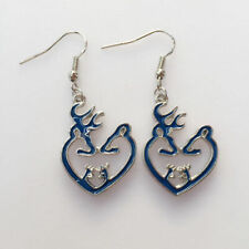 Fashion Jewelry, Browning Jewelry(Blue) Romantic Browning Deer Charm Earrings,