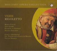 ROSSINI: RIGOLETTO Maria Callas, Tito Gobbi, Tullio Serafin, 2 CDs, sehr gut