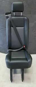 Ford Transit van OEM Passenger Seat, Black Vinyl, Single seatbelt *New*2020-2021