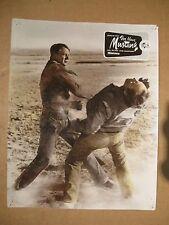 DER BLAUE MUSTANG - Aushangfoto Lobbycard - JOEL MCREA 1954
