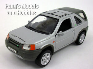 Land Rover Freelander 1/32 Scale Diecast Metal Car Model - SILVER