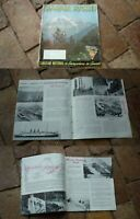 1930s CANADIAN NATIONAL RAILWAY, ROCKIES TRIANGLE ROUTE TOUR BROCHURE, 15 PAGES