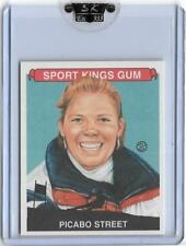 RARE 2007 SPORT KINGS PICABO STREET MINI CARD #40 ~ US ALPINE SKIING LEGEND