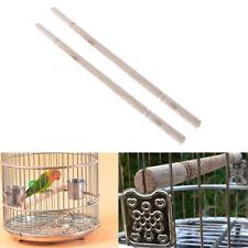 2 Pcs Bird Cage Perches Stand Non-toxic Practical Grinding Claw Bird Toys