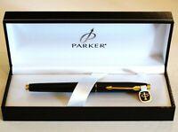 """NOS ! Authentic Parker 75 Parker Fountain Pen 14K Gold /""""XF/"""" NiB"""