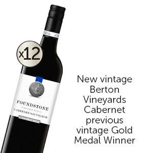 Berton Vineyards Foundstone Cabernet Sauvignon 2019 Dozen
