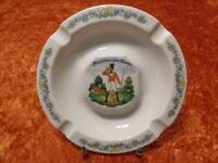 Porcelaine Cendrier Postillion Von Zuban - Bavaria Ullersricht-Weiden Vintage