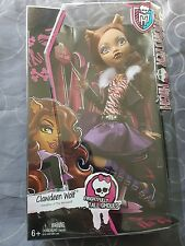 "Brand New in Box Monster High affreusement Tall Goules 17"" Clawdeen Wolf"