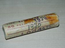 Rotolino monete da 20 Lire del 1970 OMA18