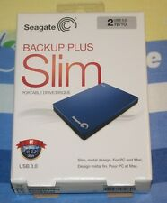 Seagate Backup Plus Slim 2TB,External Portable,5400RPM (STDR2000102) HDD