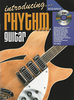 LEARN HOW TO PLAY RHYTHM GUITAR Beginner Tutor Sheet Music Book & CD Shop Soiled