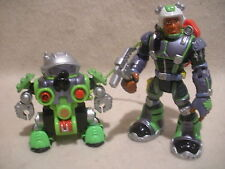 Rescue Heroes Robotz Rocky Canyon & Tectonic!