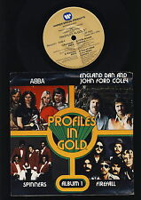 "ABBA - Profiles in Gold - Album 1 - 7"" Single - U.S.A."