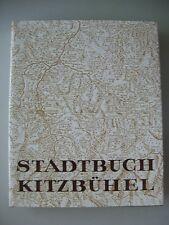 Stadtbuch Kitzbühel Bd. I Raum und Mensch 1967 Tirol Kitzbühl