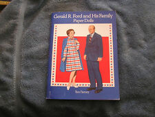 Gerald R. Ford and  His Family Paper Dolls Tom Tierney