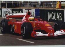 Luca Badoer Ferrari F1 Testing 2001 Signed Photograph 3