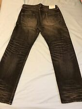 100%NBHD AUTHENTIC DS NEIGHBORHOOD 06EX SAVAGE BASIC STRAIGHT JEANS W36 XL