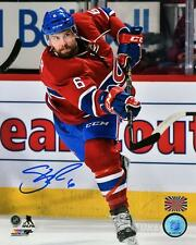 Shea Weber Montreal Canadiens Signed Autographed Home Action Shot 8x10 PF V
