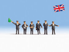 British Railway Staff 6 figures - OO/HO figures - Noch 15271 - free post