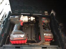 Bosch GSB 18VE-2LI + GDR 18V-LI Twin Kit with 2 4Ah Batteries