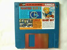 60251 disque 69 CU Amiga-Frontier Elite 2/Qwak/Magic Boy-Commodore Amiga (