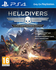 Helldivers Super-Earth Ultimate Edition PS4 Playstation 4 IT IMPORT