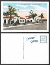 Old Florida Railroad Station Postcard - West Palm Beach - Seaboard Station